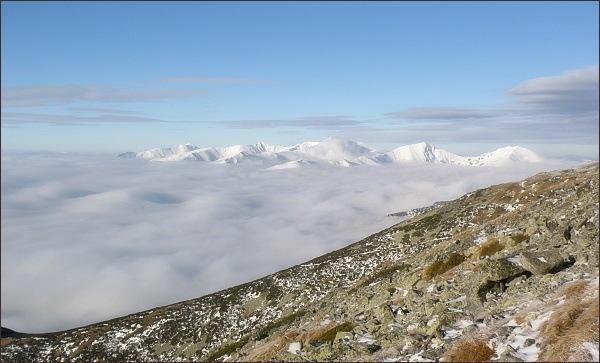 Západné Tatry z Predného Handela