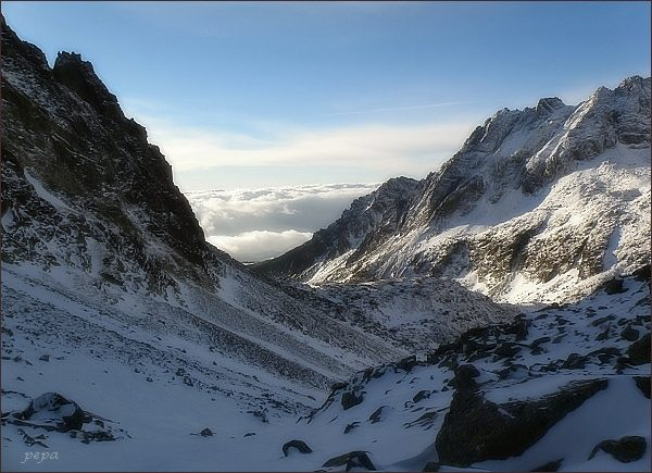 Mlynická dolina zpod Hrebeňa Bášt