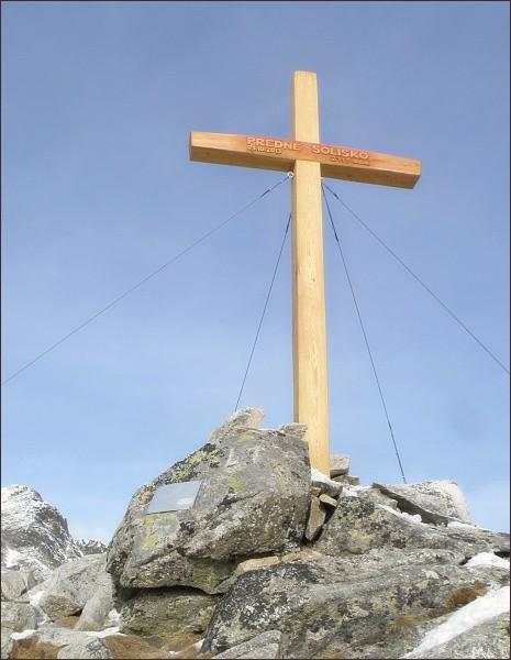 Kříž na Prednom Solisku