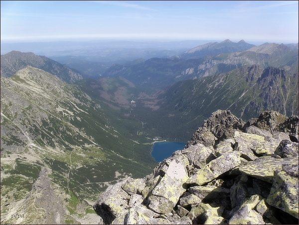 Dolina Rybiego Potoku a Morskie Oko z Čubriny
