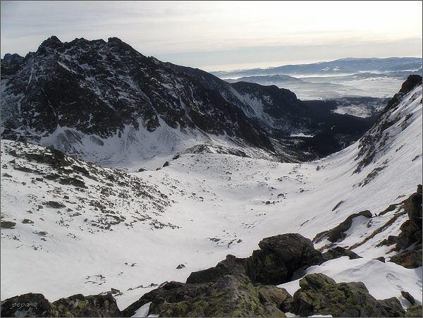 Mengusovská dolina z Volovcového sedla