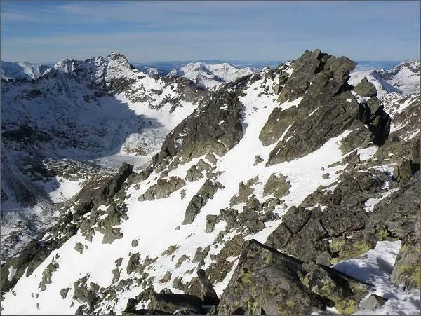 Mlynická dolina a severní vrchol Satana