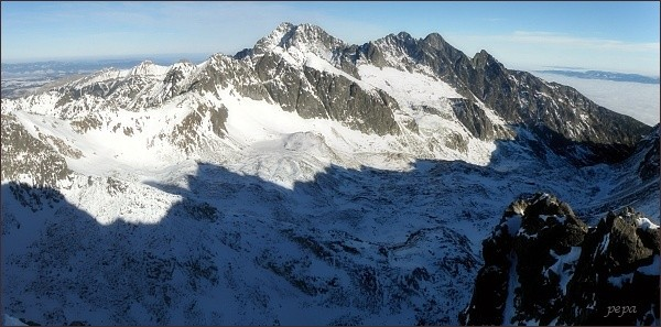 Panoráma Veľkej Studenej doliny z Kupole