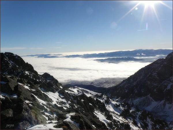 Nízke Tatry (Kráľova hoľa) z Kupole