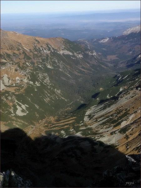 Javorová dolina z Malého Javorového štítu
