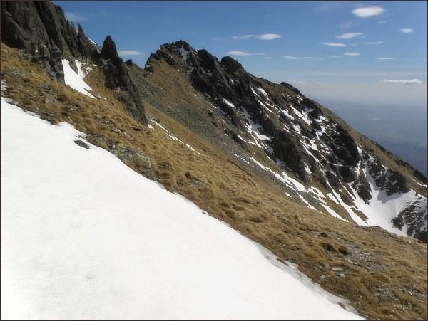 Velická kopa z Granátovej lávky
