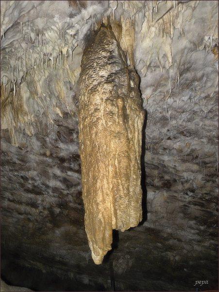 Ochozská jeskyně, Hlavní dómy. Kukuřičný klas