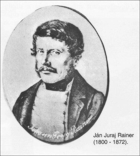 Ján Juraj Rainer (zdroj wikipedia)