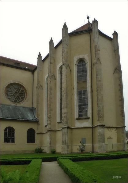 Klášter Zlatá Koruna. Klášterní kostel Nanebevzetí Panny Marie