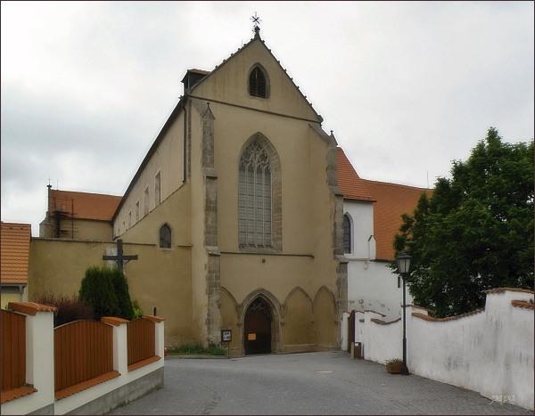 Klášter Zlatá Koruna. Kostel Nanebevzetí Panny Marie