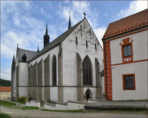Klášter Vyšší Brod. Klášterní kostel Nanebevzetí Panny Marie