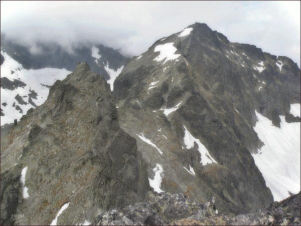 Spišský štít a Baranie rohy z Ovčiarskej veže