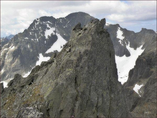 Spišský štít. Severozápadní (hlavní) vrchol