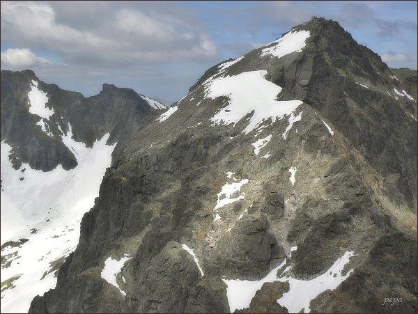Snehový štít a Baranie rohy ze Spišského štítu
