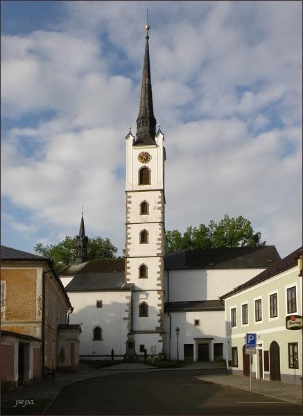 Frymburk, kostel sv. Bartoloměje