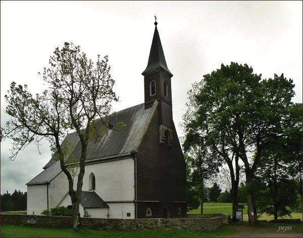 Svatý Tomáš, kostel Božího těla z roku 1347