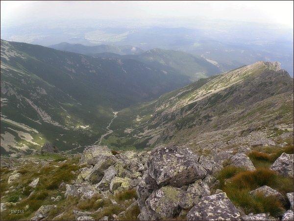 Dolina Waksmundzką ze Skr. Wołoszyna