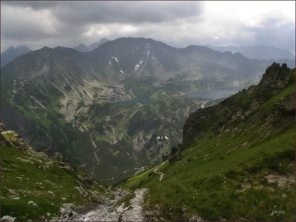Dolina Pięciu Stawów Polskich z Wielk. Wołoszyna