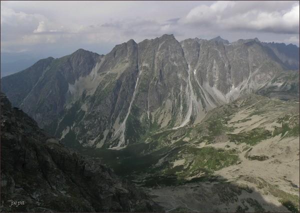 Hrebeň Bášt z Kôpok
