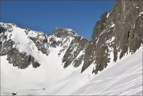 Snehový štít zpod Baraních rohov