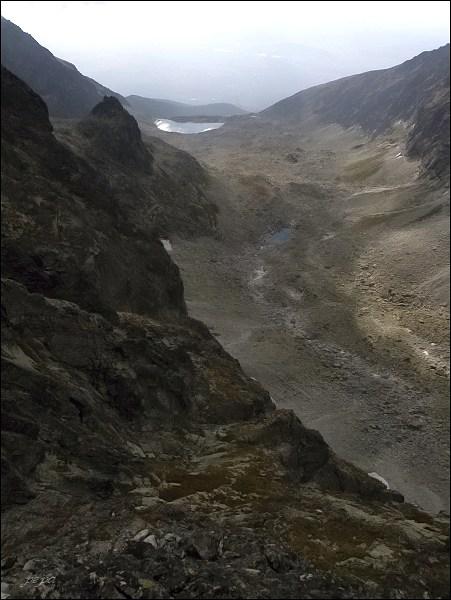 Batizovská dolina z Kačacieho štítu
