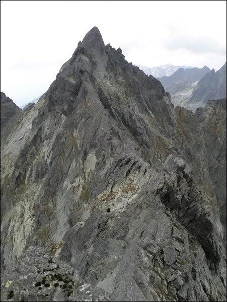 Popradský Ľadový štít z Kačacieho štítu
