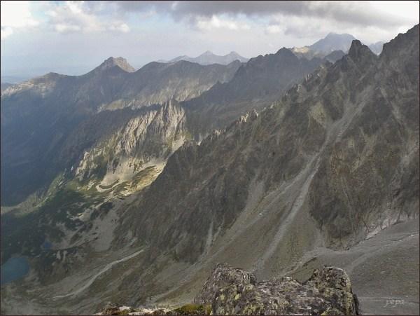Kačací štít, nad Kačacou dolinou