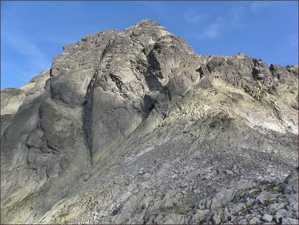 Batizovský štít, Západné Batizovské sedlo a Batizovský hrb