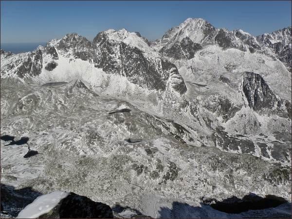 Veľká Studená dolina z Východnej Slavkovskej veže