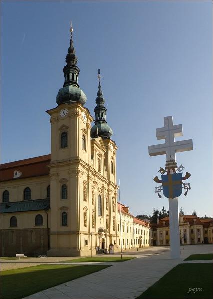Velehrad, bazilika Nanebevzetí Panny Marie a sv. Cyrila a Metoděje