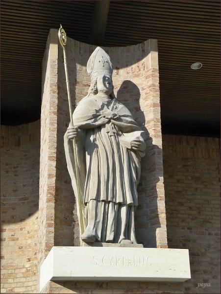 Velehrad, svatý Cyril