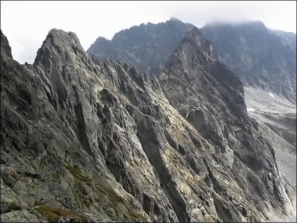 Kačací a Batizovský štít od Sedla pod Drúkom