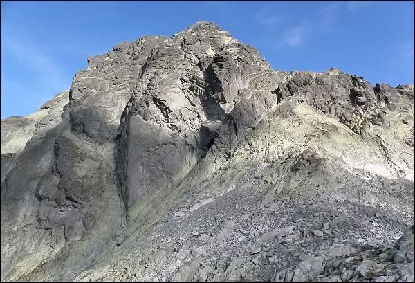 Jižní stěny Batizovského štítu