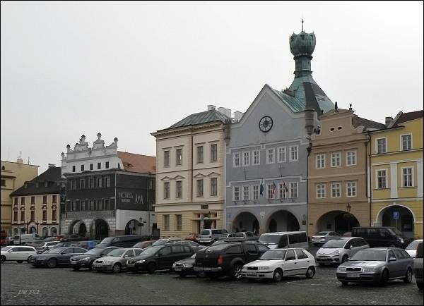 """Litoměřice, Mírové náměstí. Dům """"Kalich"""""""