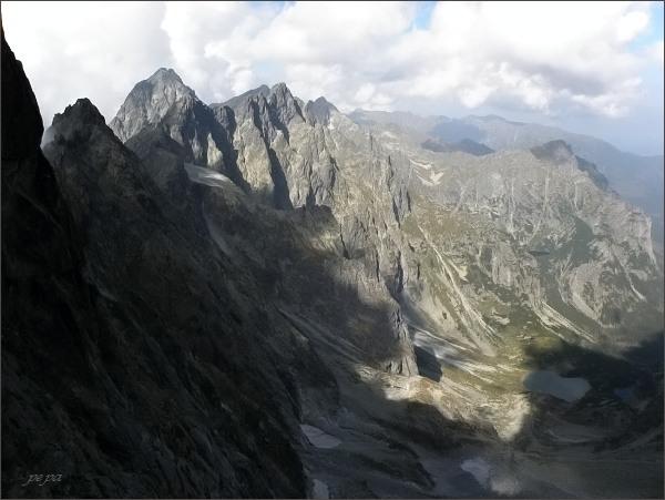 Batizovský hrb, pohled do Kačacej doliny