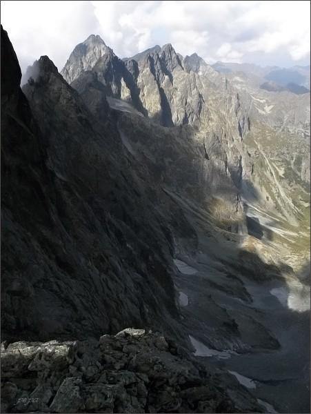 Batizovský hrb, nad Kačacou dolinou