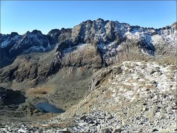 Mlynická dolina zpod Zadnej Bašty