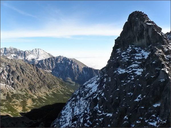 Pod severním vrcholem Zadnej Bašty