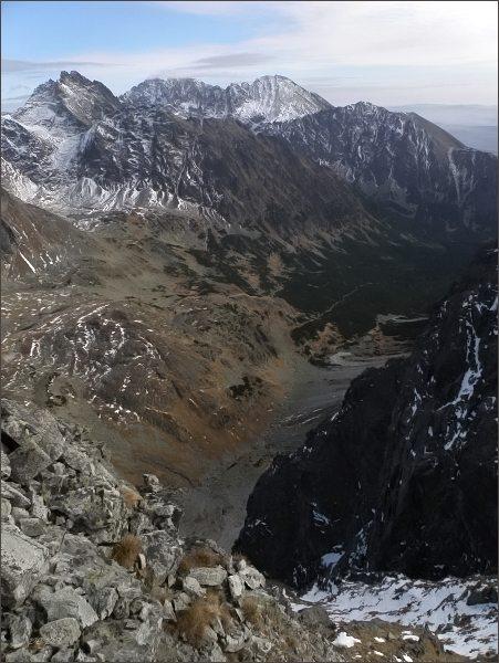Mengusovská dolina z Hlinskej veže
