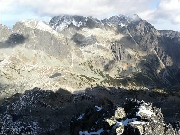 Veľká Studená dolina ze Západnej Slavkovskej veže