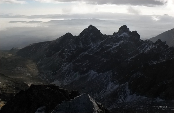 Velické Granáty ze Západnej Slavkovskej veže