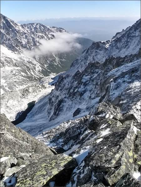 Veľká Studená dolina z Prostrednej Slavkovskej veže