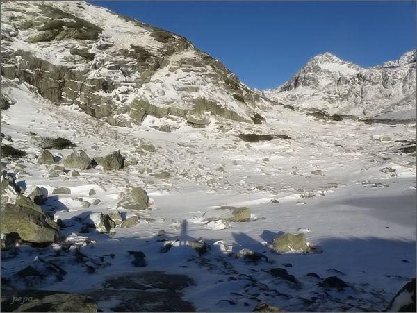 Mlynická dolina a můj stín