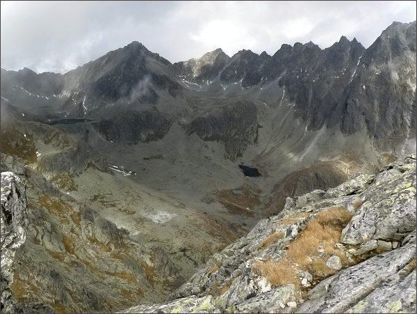 Mlynická dolina se Štrbským štítom ze Štrbského Soliska