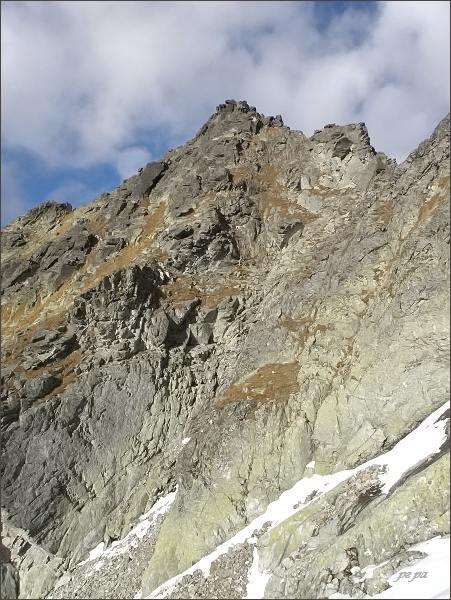 Hlinská veža nad Mlynickou dolinou