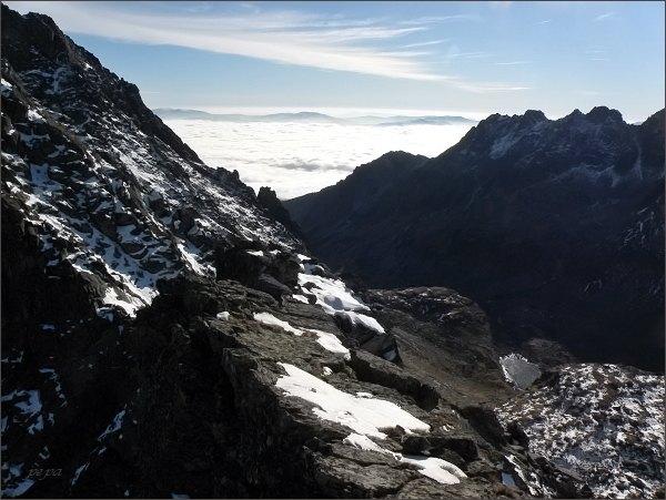 Mlynická dolina z Malej Capej veže