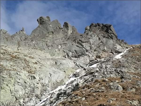 Veľká Capia veža (severní vrchol vpravo)