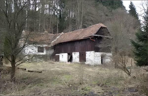 Starý mlýn u Melkova