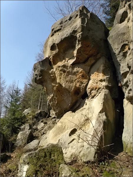 Horní Lačnovské skály
