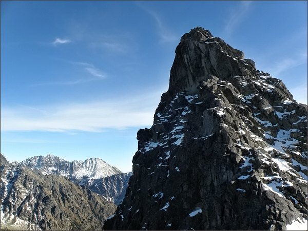 Severní vrchol Zadnej Bašty